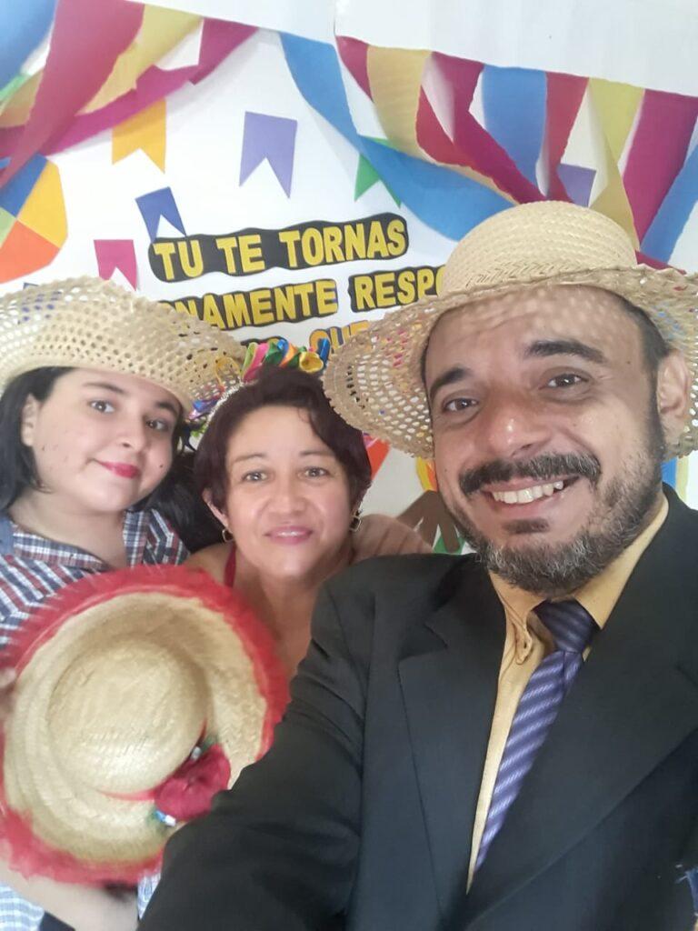 Lar de Maria abriga famílias juninas