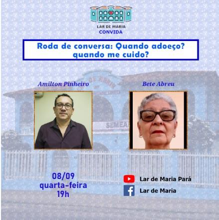 Lara de Maria promove roda de conversa sobre adoecimento